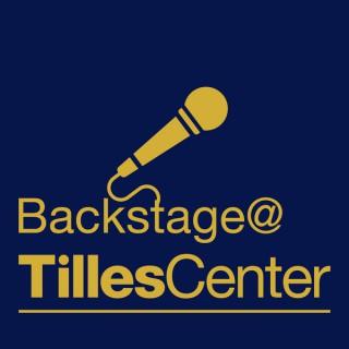 Backstage at Tilles Center