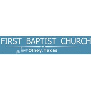 First Baptist Church Olney, Texas