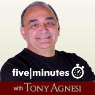 Five Minutes with Tony Agnesi