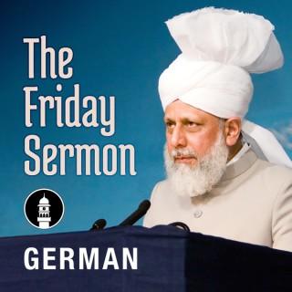 German Friday Sermon by Head of Ahmadiyya Muslim Community