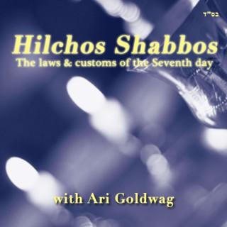 Hilchos Shabbos with Ari Goldwag