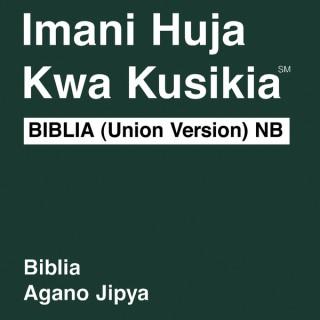 Kiswahili Biblia (non-umetiwa chumvi) Habari Njema - Kiswahili Habari Njema Bible (non-dramatized)