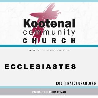 Kootenai Church: Ecclesiastes
