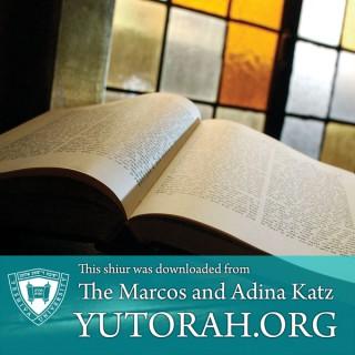Latest shiurim from Boca Raton Synagogue