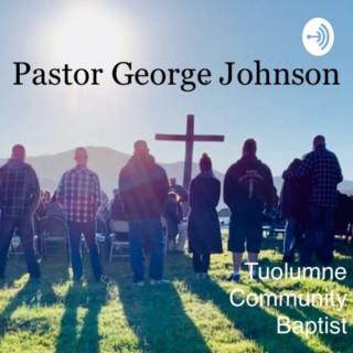 Pastor George Johnson of Tuolumne Community Baptist Church