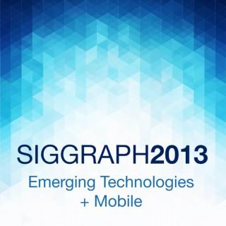 SIGGRAPH 2013 E-Tech   Mobile: Arabic