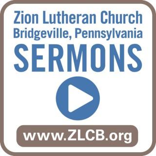 Sermons from Zion Lutheran Church