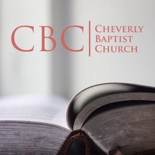 Sermons | Cheverly Baptist Church