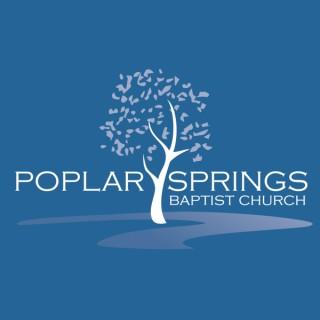 Sermons – Poplar Springs Baptist Church