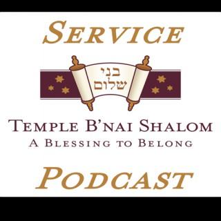 Services - Temple B'nai Shalom