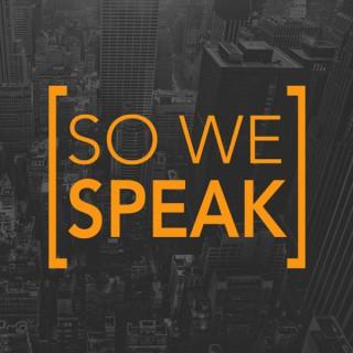 So We Speak