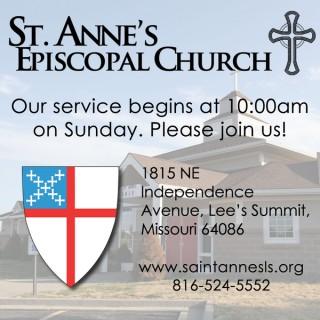 St. Anne's Episcopal Church - Lee's Summit - Audio Only