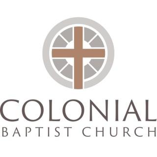 Stephen Davey: Colonial Baptist Church Cary, NC (Audio Podcast)