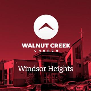 Walnut Creek Windsor Heights - Sermons
