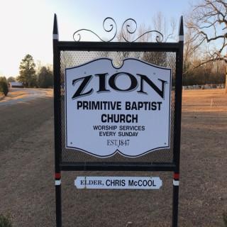 Zion Primitive Baptist Church Podcast