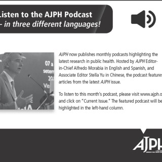 American Journal of Public Health Podcast