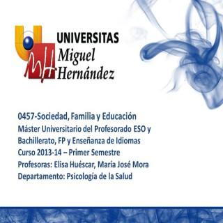 Sociedad, Familia y Educación (umh0457) Curso 2013 - 2014
