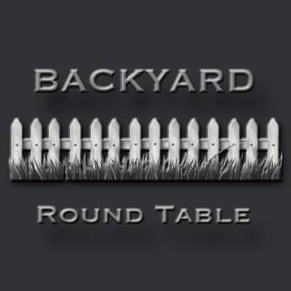 Backyard Round Table
