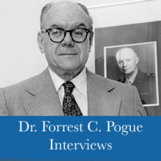 Forrest C. Pogue Interviews with General George C. Marshall