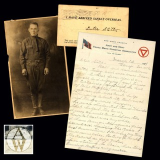 From Camp Lee to the Great War: The Letters of Lester Scott & Charles Riggle