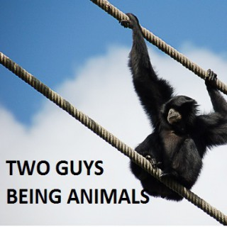 Two Guys Being Animals