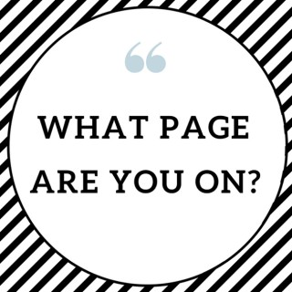 What Page Are You On?