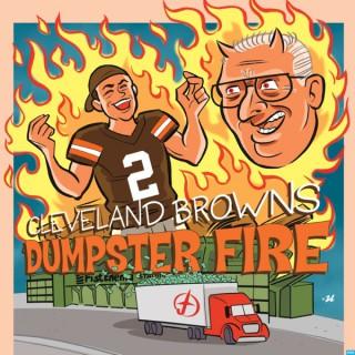 Cleveland Browns Dumpster Fire