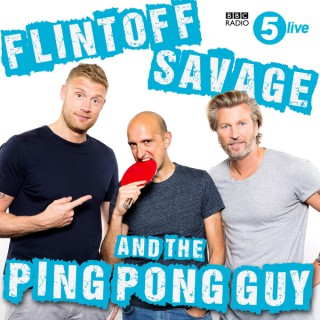 Flintoff, Savage and the Ping Pong Guy