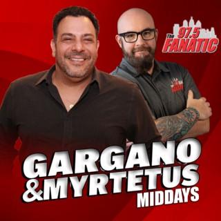 Gargano & Myrtetus Middays - 97.5 The Fanatic