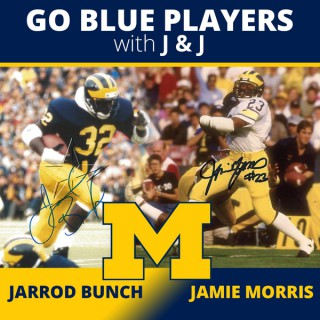 Go Blue Players with J & J