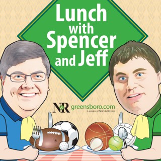 Lunch with Spencer and Jeff