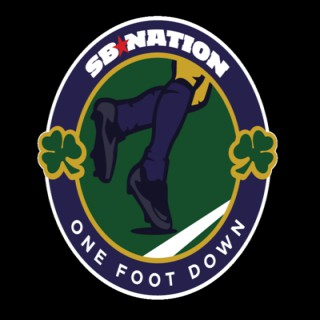 One Foot Down: for Notre Dame Fighting Irish fans