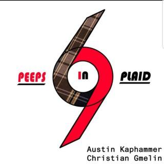 Peeps in Plaid