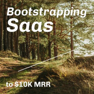 Bootstrapping Saas