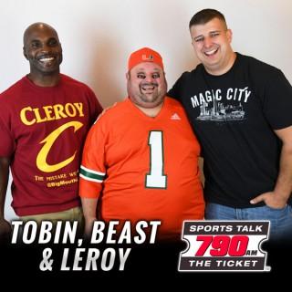 Tobin, Beast & Leroy
