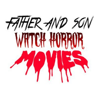 Father and Son Watch Horror