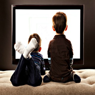 Two Brothers Watching Stuff
