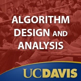 Algorithm Design and Analysis