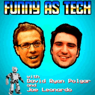Funny as Tech: a tech ethicist & comedian tackle the thorniest topics in tech w/ the help of experts!