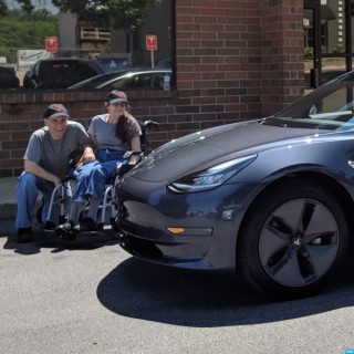 Life With Middie, Our Tesla Model 3