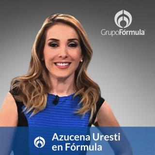 Azucena Uresti en Fórmula
