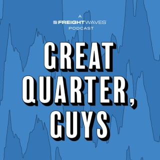 Great Quarter, Guys
