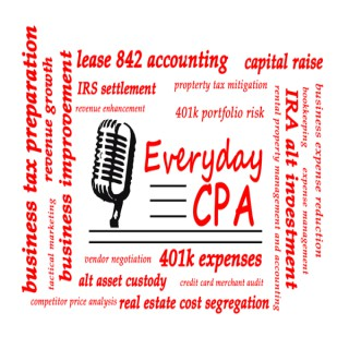 EverydayCPA Podcast   Tax Preparation   Tax Issue Resolution   Business Strategy and Tactics  Business Formation
