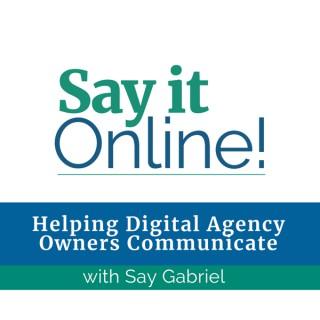Say it Online