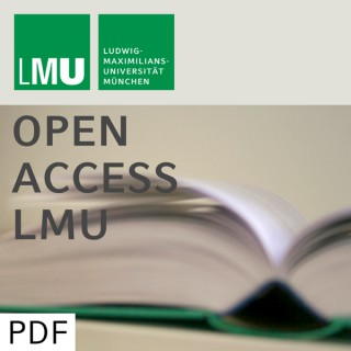 Volkswirtschaft - Open Access LMU - Teil 03/03