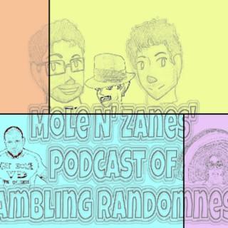 Mole N' Zanes' Podcast of Rambling Randomness