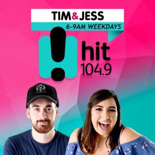 Tim & Jess - hit104.9 The Border