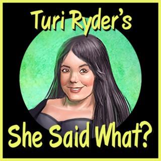 Turi Ryder's