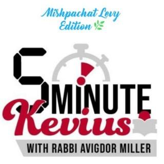 5 Minute Kevius with Rabbi Avigdor Milller