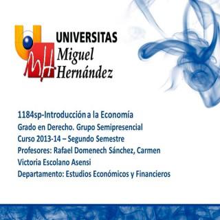 Introducción a la Economía (umh1184sp) Curso 2013 - 2014